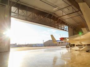 Air Museum Bi-Fold Door