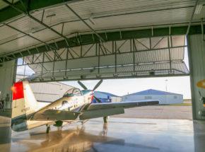 Air Museum Bi-Fold Hangar Door