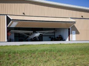 Bi-fold Hangar Door
