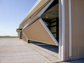 Opening Bi-Fold Door