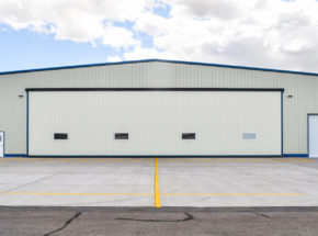 Hydraulic Hangar Door