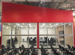 Indoor Architectural Bi-Fold Glass Door