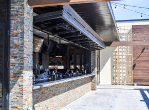 Open Architectural Bi-Fold Door at Tavern Grill in Fargo, ND