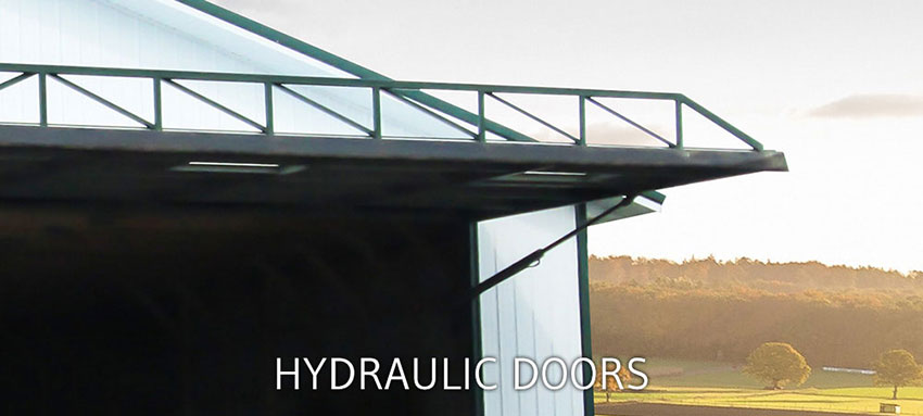 Large Hydraulic Doors