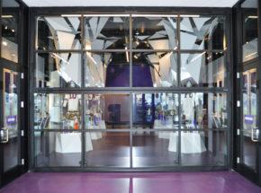 Architectural Bi-Fold Door at Vikings Museum