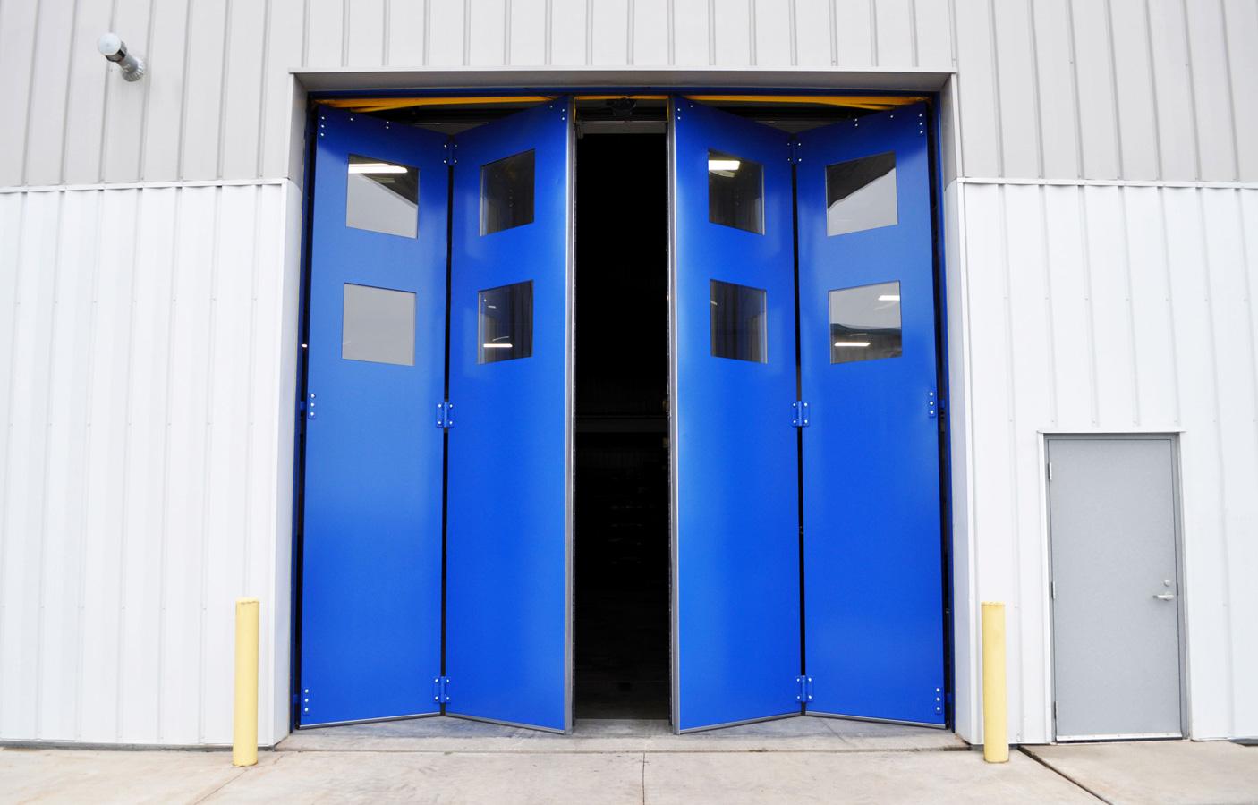 Open 4-fold Door