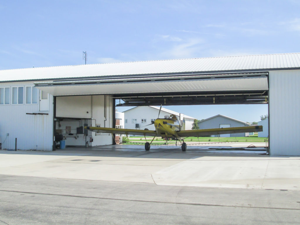 Aviation Hangar Bi-Fold Door