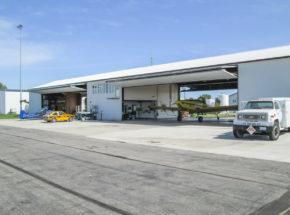 Bi-Fold Hangar Doors