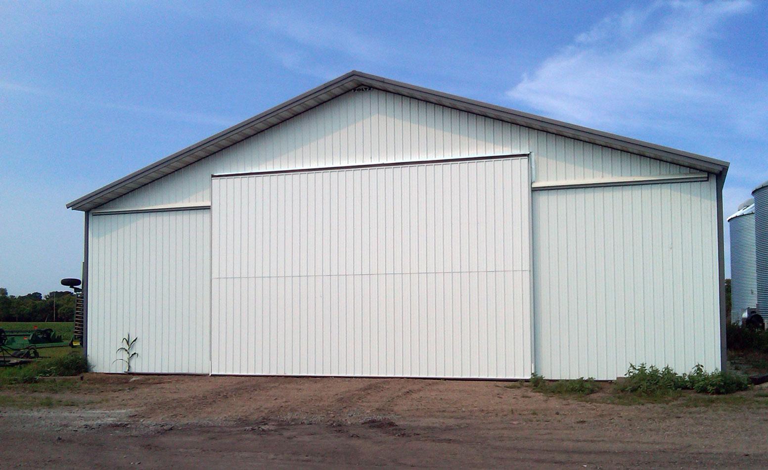 After: Agricultural Bi-Fold Door