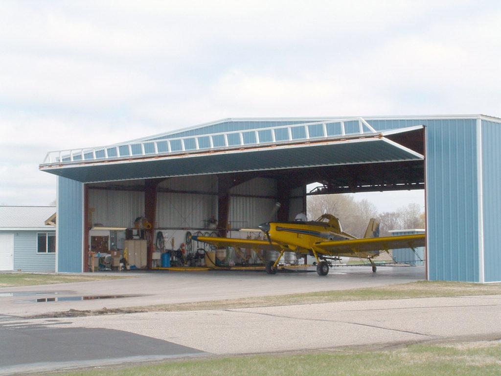 Bi-Fold Aircraft Hangar Door