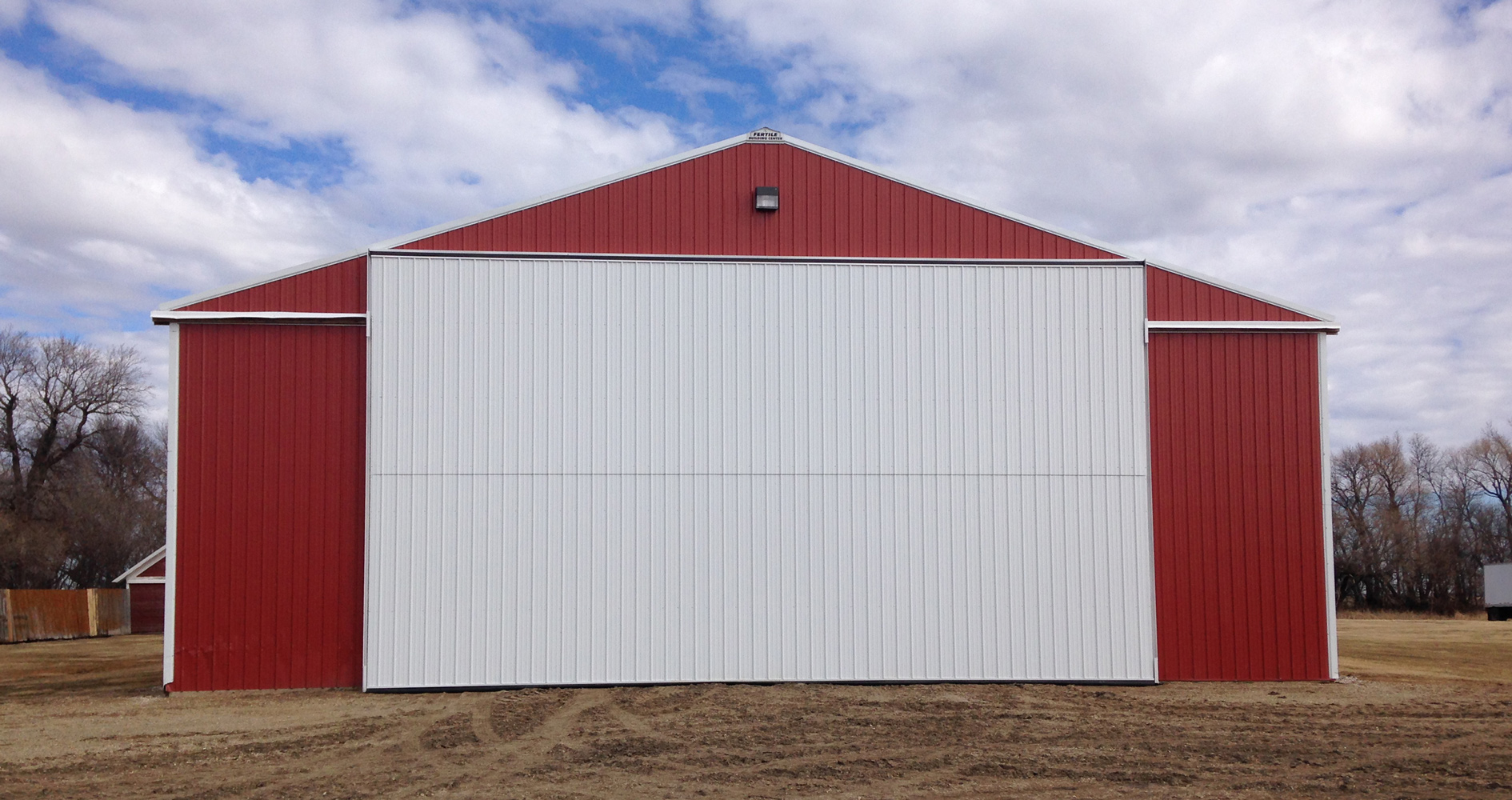 Bi-Fold Machine Shed Door