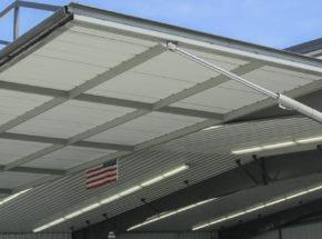 Hydraulic door steel frame construction