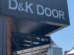 D&K architectural bi-fold door