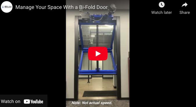Architectural Bi-fold – Twin City Garage Door, Minneapolis, Minnesota